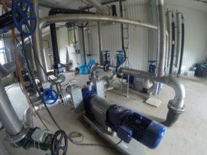 Instalacje technologiczne biogazu